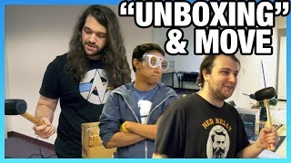 """Day 3 Move & GN-Style """"Unboxing,"""" Sound Treatment: GN Moving Vlog, Part 4"""