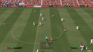 Pro Evolution Soccer 2016 PC Manchester United VS Liverpool Gameplay