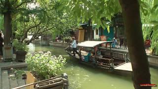 Zhujiajiao,Venice of Shanghai - Trip to China part 47 - Full HD travel video
