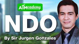 New Distributors Orientation by Sir Jurgen Gonzales