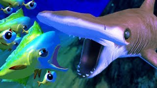 MAHI MAHI vs HAMMERHEAD SHARK! - Feed and Grow Fish - Part 51 | Pungence