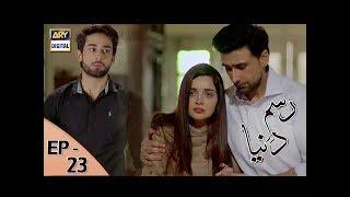 Rasm-e-Duniya - Episode 23 - 10th July 2017 - ARY Digital Drama