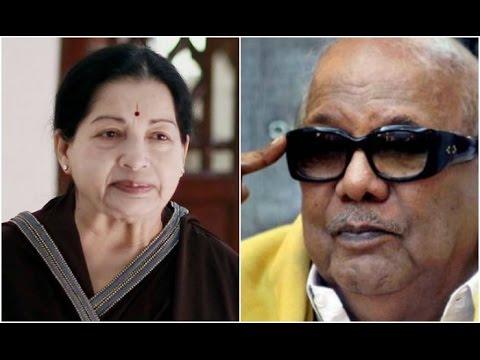 Jayalalitha welcomes Karunanidhi and M.K Stalin in Assembly  - Dinamalar May 25th 2016