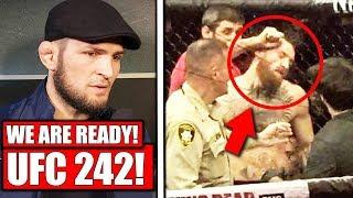 Khabib's team get suspensions REDUCED and Khabib confirms UFC 242 return, Bisping rips Malignaggi