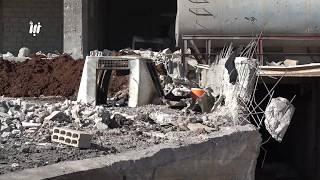 الطيران الحربي يجدد قصفه على بلدات بريف درعا الشرقي ونزوح كبير للسكان من مدينة الحراك