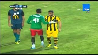 رامى صبرى يحرز الهدف الثانى لـ إنبى بعد طرد الحارس ابو السعود... إنبى VS المقاولون 2/1