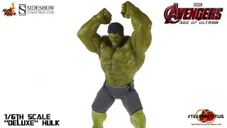Hot Toys Avengers Age of Ultron Deluxe Hulk Video Review