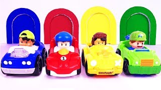 Colors for Children Learn Street Vehicles | Colours for Kids | Learning Videos | Teach Colors Songs