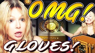 CS:GO Hydra | UNBOXING GLOVES OMG + Pink Skin! Case opening!