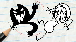 "Dangerous Kitty! -in- ""Scratch 22"" Pencilmation Cartoons"