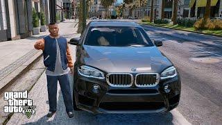 GTA 5 REAL LIFE MOD#107-BMW X6M UBER DRIVER JOB