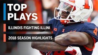 2018 Season Highlights: Illinois Fighting Illini | Big Ten Football