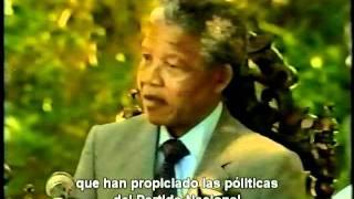 Entrevista a Nelson Mandela al salir de prisión