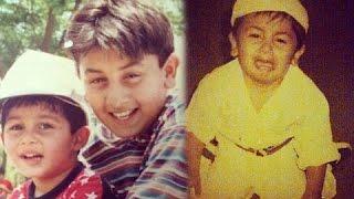 Ranbir Kapoor UNSEEN Childhood Photos