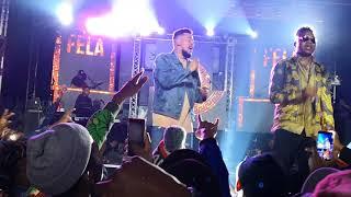 Aka ft Kiddominant - Fella in Versace live @zone 6 the vanue