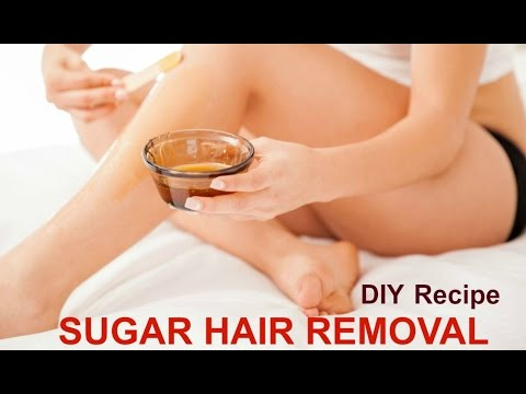 How To Make Sugar Paste For Natural Hair Removal - Sugar Hair Removal - Part 1 - Ms Toi