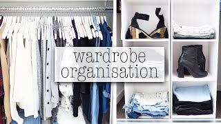How To Organise & Glam Your Wardrobe