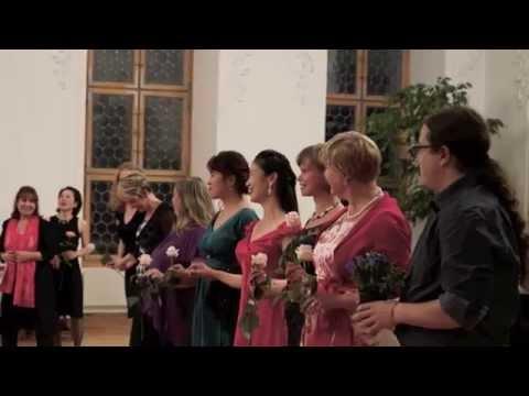 Barbara Fuchs (Gesang) und Satoko Kato (Liedbegleitung) in Engelberg