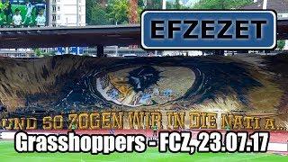 Grasshoppers - FCZ, und so zogen wir in die Nati A
