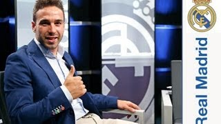 Primera entrevista a Dani Carvajal como jugador del Real Madrid