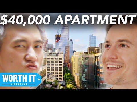 1 700 Apartment Vs. 40 000 Apartment