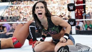 10 WWE Divas Who BROKE CHARACTER on Live TV