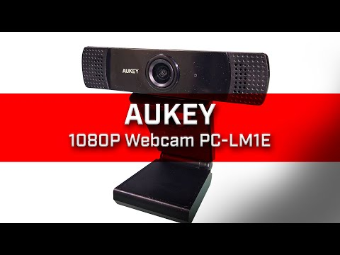 Aukey 1080P Webcam PC LM1E Unboxing and First Impression