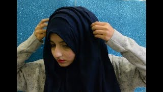 How to wear your hijab without inner cap | Aisha Mukhtar.