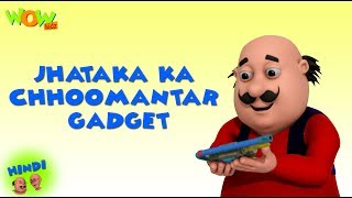 Dr Jhatka ka Choomantar Gadget - Motu Patlu in Hindi - 3D Animation Cartoon - As on Nickelodeon