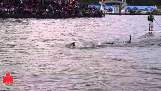 Pro Women 1st Swim Loop 2013 IMCDA