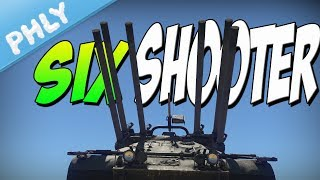 SIX SHOOTER - M50 Ontos - So Many Guns (War Thunder 1.71 Gameplay)