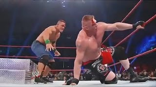 Full Match - Brock Lesnar vs John Cena - WWE Extreme Rules 2012