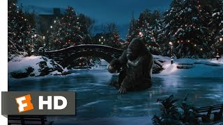 King Kong (7/10) Movie CLIP - Ice Skating in Central Park (2005) HD