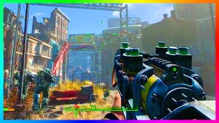 FALLOUT 4 FREE ROAM GAMEPLAY! - Over Level 30, Exploring Vaults, Combat & MORE! (Fallout 4 Gameplay)