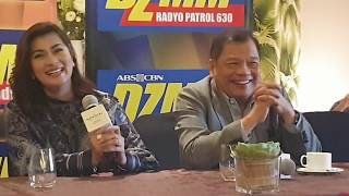 DZMM Anchors May Valle-Ceniza at Joey Lina May Payo kay Jimmy Bondoc at Angel Locsin