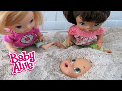 Xxx Mp4 BABY ALIVE Babies Play In Sandbox 3gp Sex