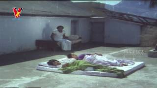 Gopi about romance - Radha My Darling Scene | Mega Star Chiranjeevi | V9 Videos