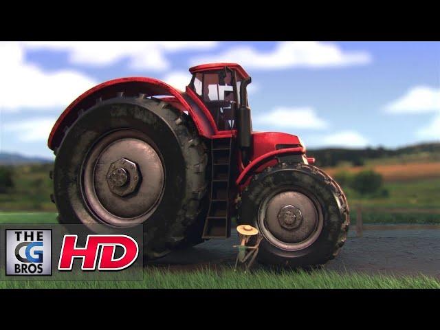 "CGI 3D Animated Short: ""Tracteur 3000""  - by Ismail Berrahma"