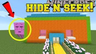 Minecraft: GHASTS HIDE AND SEEK!! - Morph Hide And Seek - Modded Mini-Game