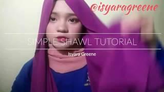 Simple Shawl Tutorial | Isyara Greene