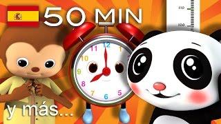 Canciones educativas | Y muchas más canciones infantiles | ¡50 min de LittleBabyBum!