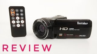 Besteker Z18 1080P Camcorder REVIEW - Is a cheap Chinese Camcorder any good??