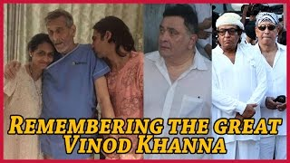 Celebrities Remember Veteran Actor Vinod Khanna On Social Media