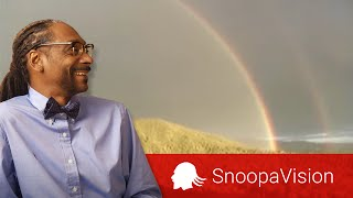 DOUBLE RAINBOW SONG!! in SnoopaVision
