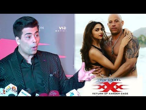 Karan Johar's Review Of Deepika's xXx: Return of Xander Cage Movie With Vin Diesel