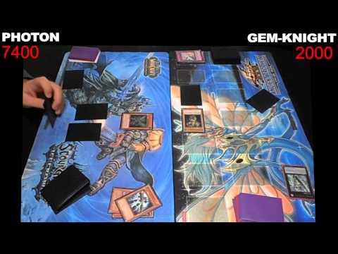 Yugioh Duel: Photon vs Gem-Knight - Round 1