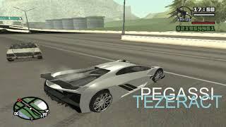 MODS de autos de GTA V online para GTA San Andreas