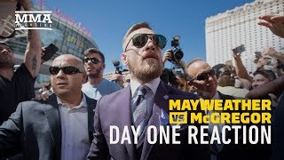 Mayweather vs. McGregor Fight Week Day 1 Reaction - MMA Fighting