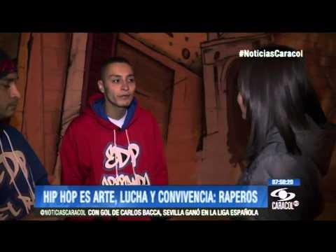 En medio de la noche bogotana jóvenes se expresan con el hip hop 10 de Noviembre de 2013