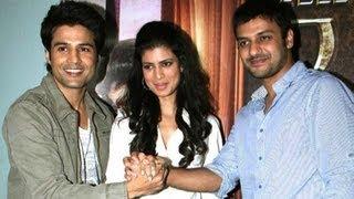 Rajeev Khandelwal, Tena Desae & Aditya Datt Promote 'Table No.21'